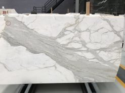 calacatte marble slab