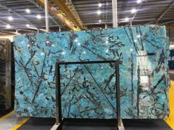 Blue Danube quartz slabs