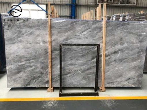 Italian grey marble slabs