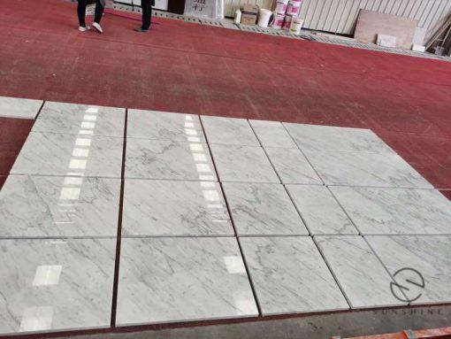 bianco Carrara tile