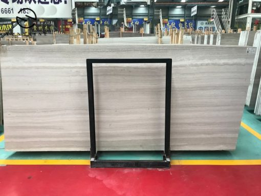 China White Wooden Slabs